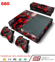 Vinyl decal game console accessories for Microsoft Xbox one sticker for xbox one