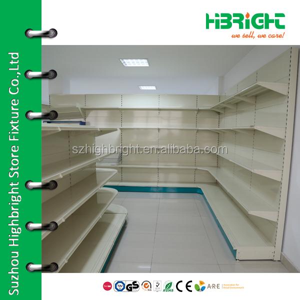 Cheap Priced Grocery Store Wire Metal Supermarket Storage Gondola ...