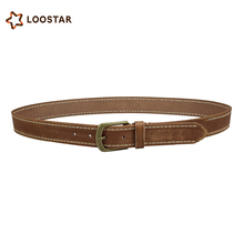 2017 Best Quality OEM mens belts genuine leather famous brand