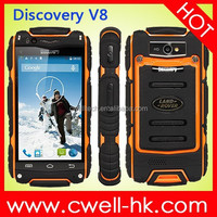 3G Cheap Rugged Smartphone Discovery V8 Android 4.2 MTK6572 Dual Core 4.0 Inch IPS Screen Dual SIM Card 5.0MP Camera WIFI GPS