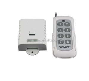long distance 8 channel wireless remote control 433/315mhz for industrial application home light transmitter