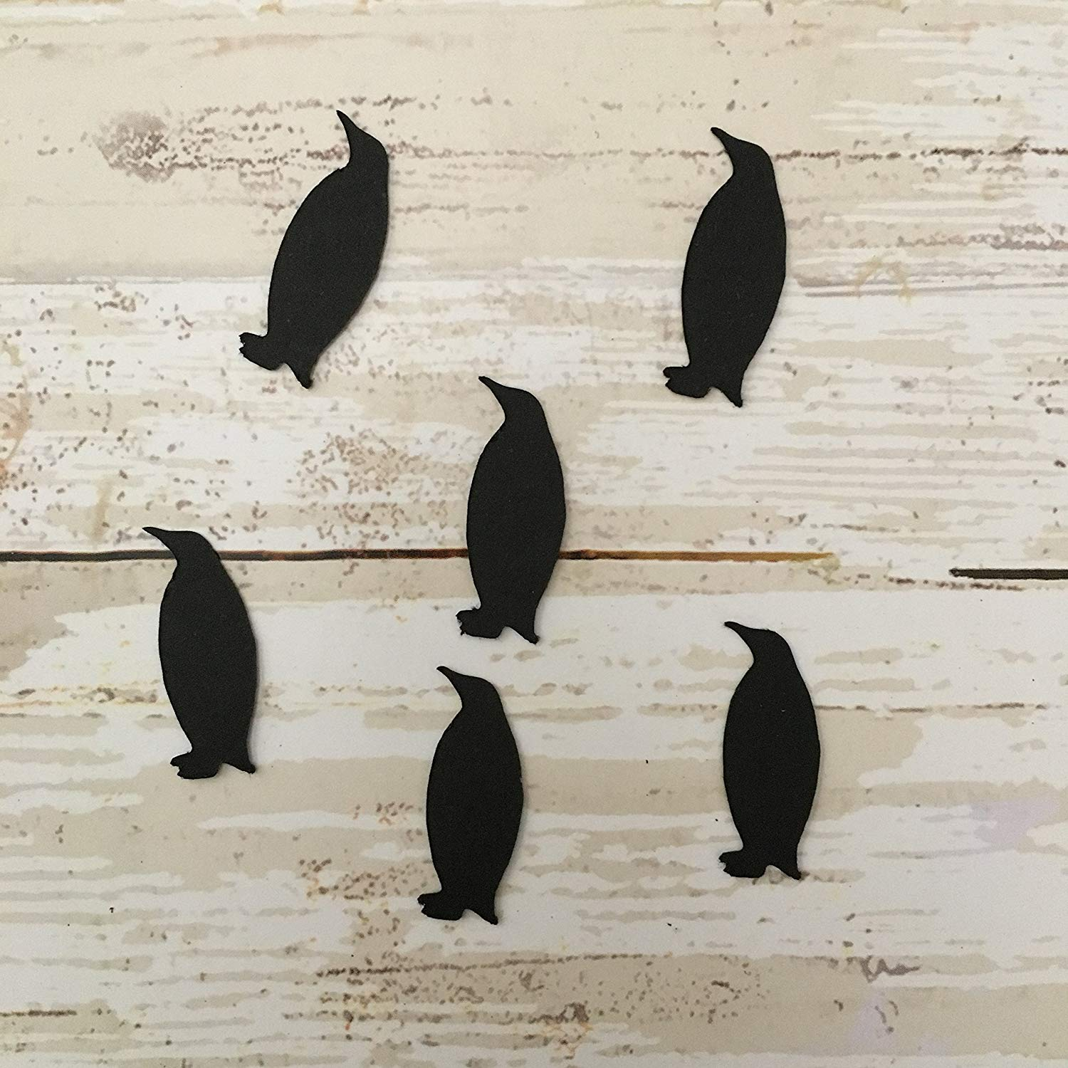 Get Quotations Penguin Confetti Bird Decorations Winter Party Supplies Theme Cut Outs