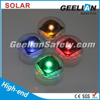solar lighting road markers Solar Tempered Glass Round type Road Stud