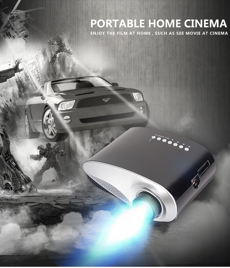 full hd mini led projector portable projector for home entertainment