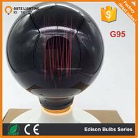 Vintage Tungsten Filament E27 Globe Edison Light Customized color Bulb 220V G95