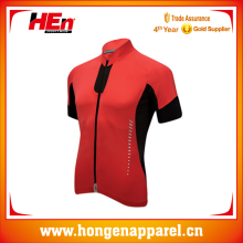 Hongen apparel Womens funny bike/cycling jersey with full open zip