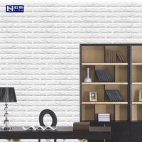 Styling Design Wall Panels Decorative Interior Wallpaper Decoration 3D Wall Foam