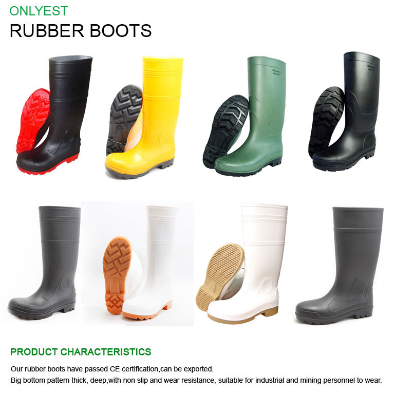 cb4869aaabd New Product Rubber Rain Boots Pvc Plastic Over The Knee Rubber Boots ...
