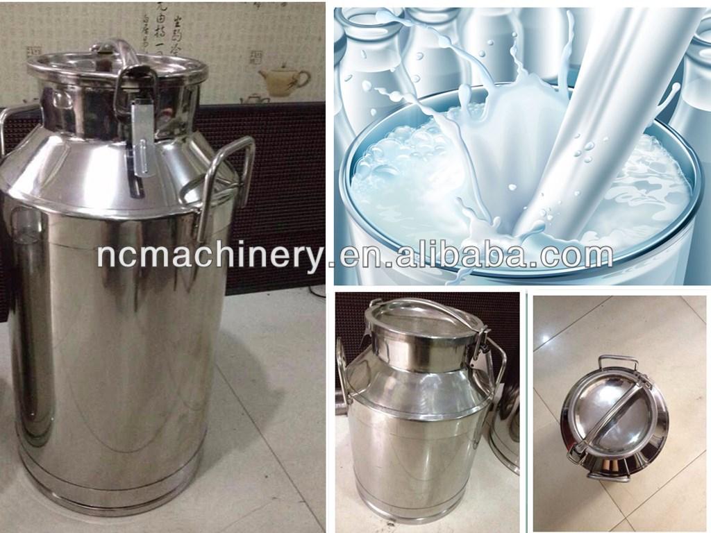 Высококачественная зеркальная полированная пищевая санитарная нержавеющая сталь молочная банка