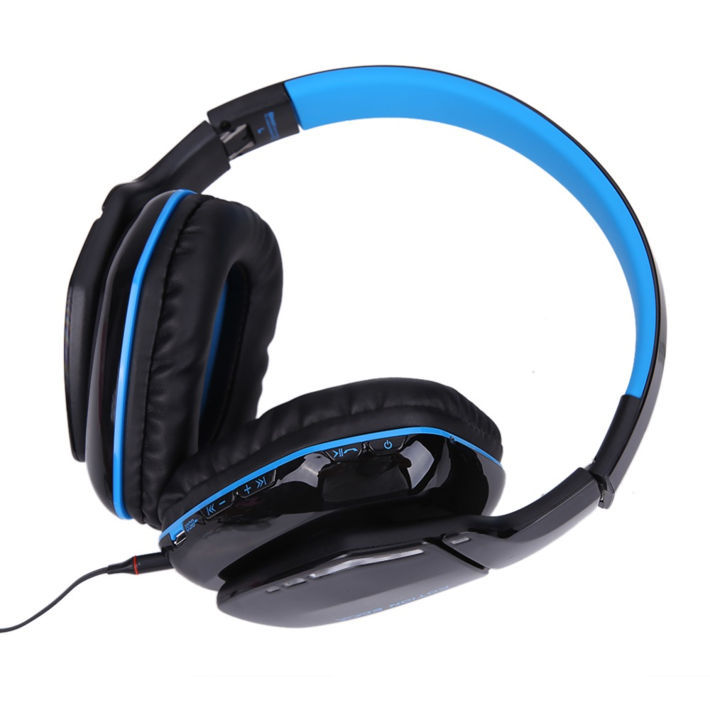 KOTION EACH B3506 Wireless Bluetooth4.1 Stereo Gaming Headphone Headset Foldable Mic Headphone for Gamer