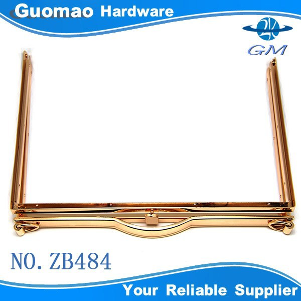 Popular rectangle bag frame closure hardware