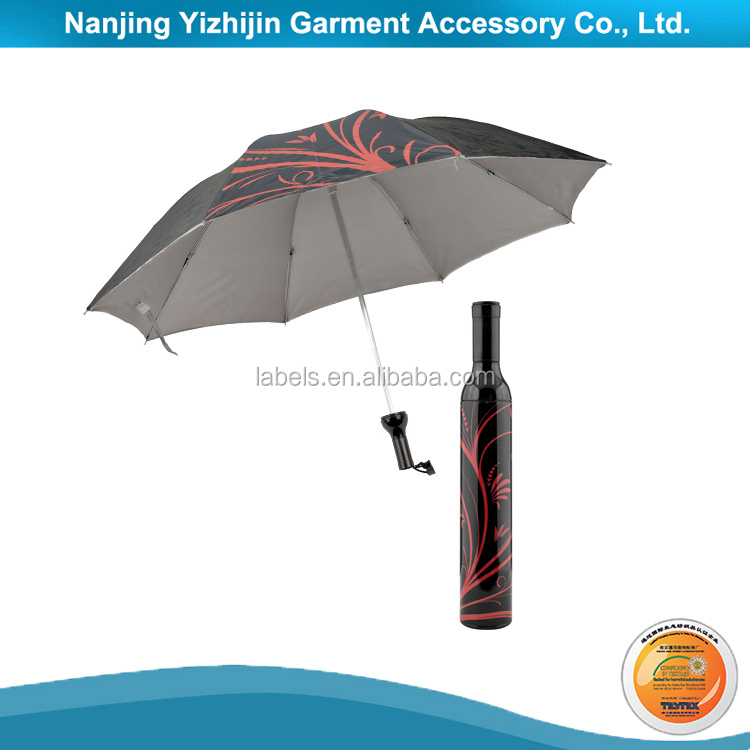 Cheap Price Wine Water Bottle Shape Umbrella