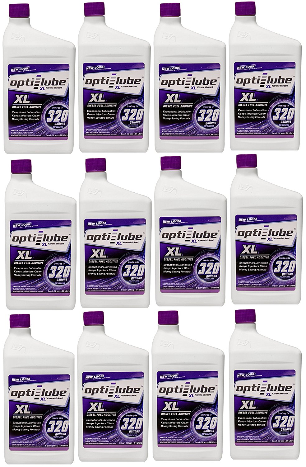Opti-Lube XL Formula Diesel Fuel Additive: Quart, Case of 12