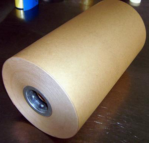 50-80gsm stock virgin MF brown kraft paper 1010mm rolls with cheapest price.