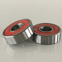 Red skateboard ball bearing, ball bearing for skateboard