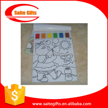Magic Kids Drawing Book Paint With Water Coloring Book - Buy Paint ...