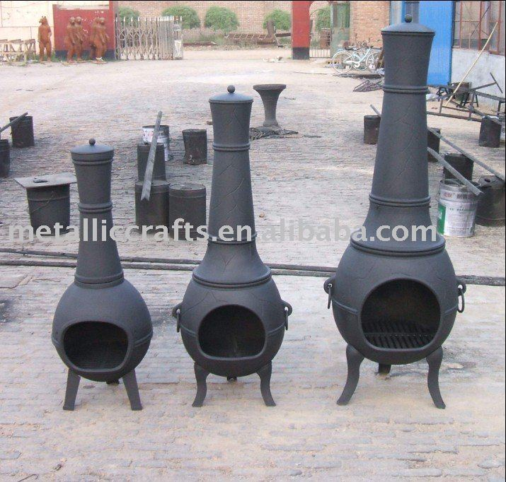 Three Sisters Cast Iron Chiminea Aluminium Product On Alibaba