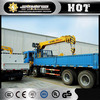XCMG mini truck mounted crane size SQ8SK3Q lorry mounted crane