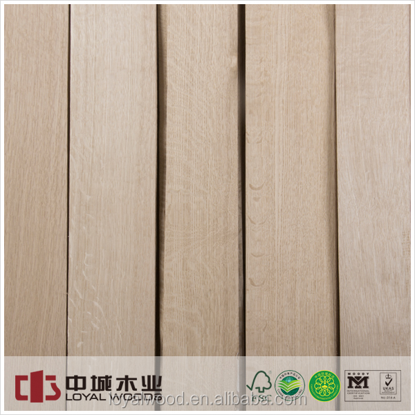 Natural wood veneer floor white oak veneer from China supplier
