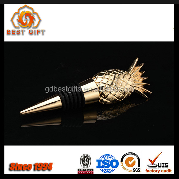 Customized Pineapple shape New Style Wine Stopper