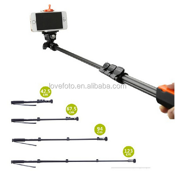 New Selfie Monopod Yunteng 1288 Stick With Bluetooth Remote Shutter Portable Handheld Telescopic Tripod For