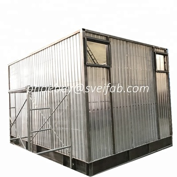 High pressure galvanized steel structure building warehouses/steel structure