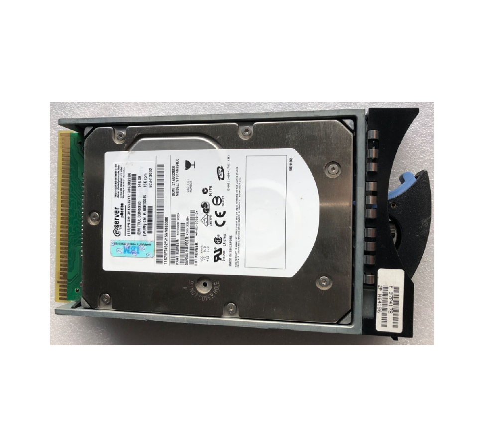 "IBM 26K5823 40K1025 39R7312 300GB 10K 80PIN U320 HOT SWAP 3.5/"" SCSI HDD W//TRAY"