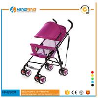2015 best sell good european leather baby stroller