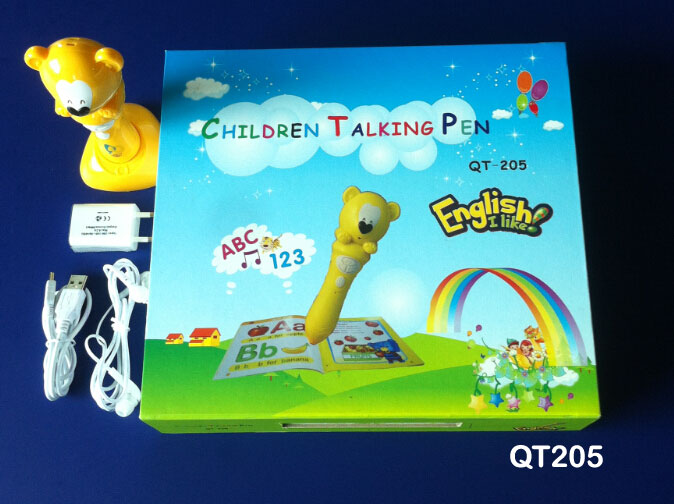Kids Learning Machine,Baby Voice Record Able Talking Pen Book With ...