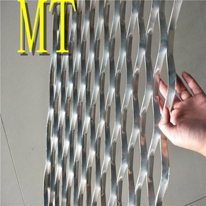 Top sale decorative wall aluminium expanded mesh