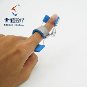 High Quality Material Finger Joint Motion Device Blue White Color