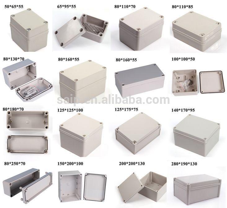 Plastic Motor Electric Controller Three Ways Pushbutton Box Panel ...