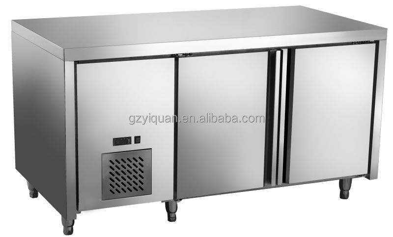 Stainless Steel Commercial Pizza Refrigerator Pizza Work