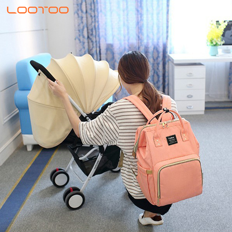 Multifunctional nappy change diaper station fashion new design big capacity portable package backpack mummy bag