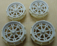 professional CNC machining sls 3d printer plastic rapid prototyping making the handmade cars wheel hub