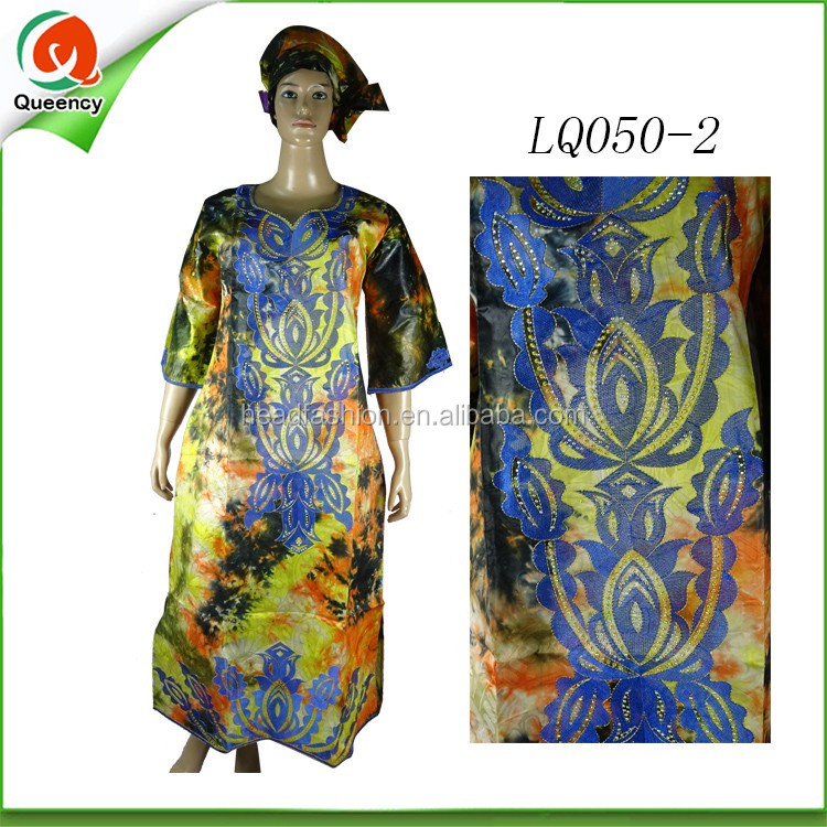 7e148ea97 as mulheres da forma vestem o kaftan bordado vestem a roupa africana da  tela do boubou