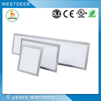 China Manufacturer UL DHL ultra thin square ceiling light cover with DLC CUL approved