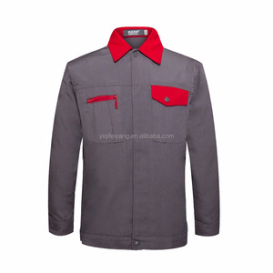 stock sell fast delivery red collar industrial working cloth