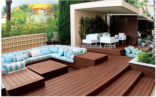 plastic wood plastic composite decking, wpc timber <strong>flooring</strong> 25mm
