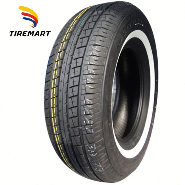 16565r13 16570r13 china supplier wholesale radial passenger car tire white wall tyre