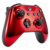 Chrome Red Replacement Front Shell Top Shell Front Housing Faceplate Replacement Parts For Xbox One S Controller
