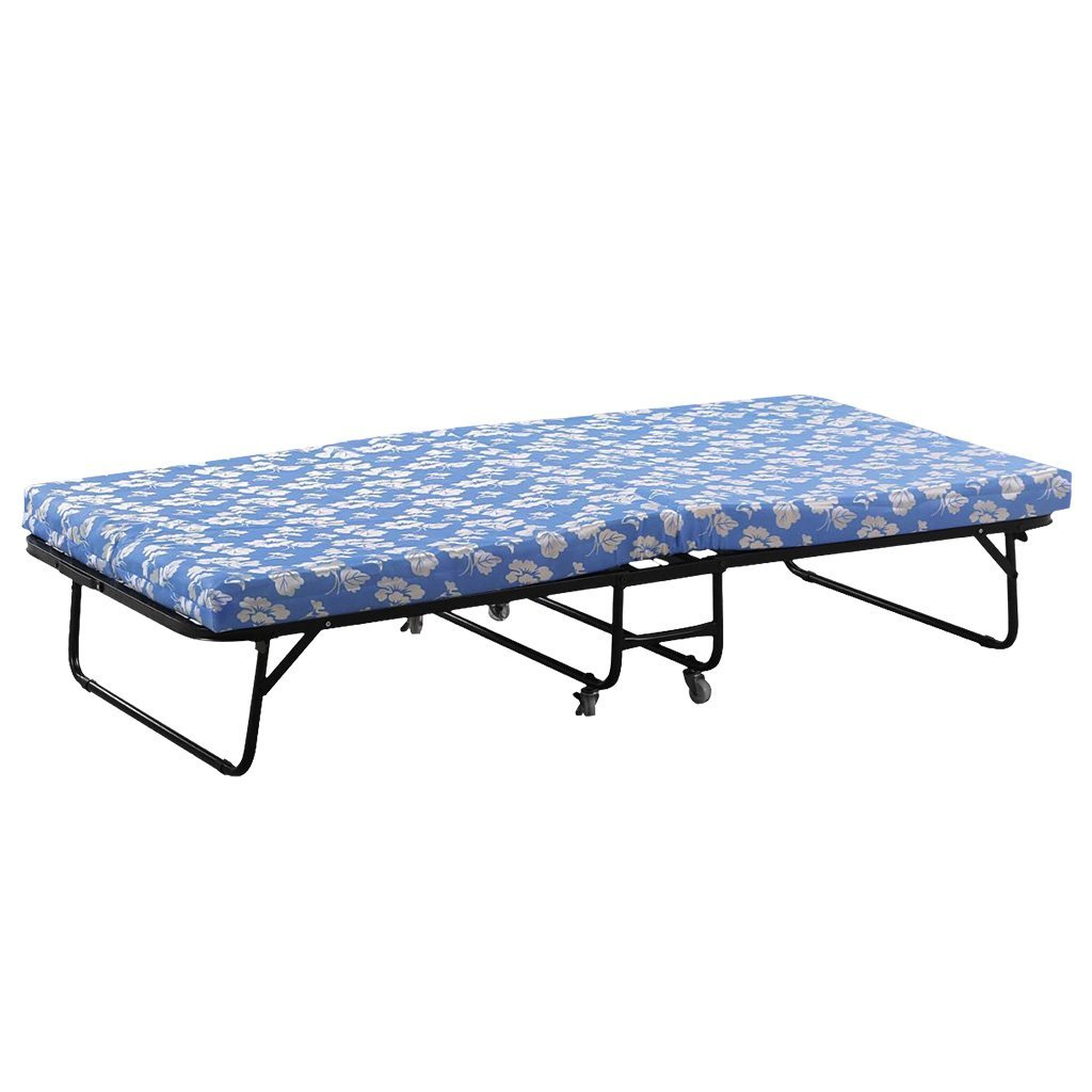 Buy LANGRIA Folding Guest Bed Camping Traveling Cot with Thick Foam ...