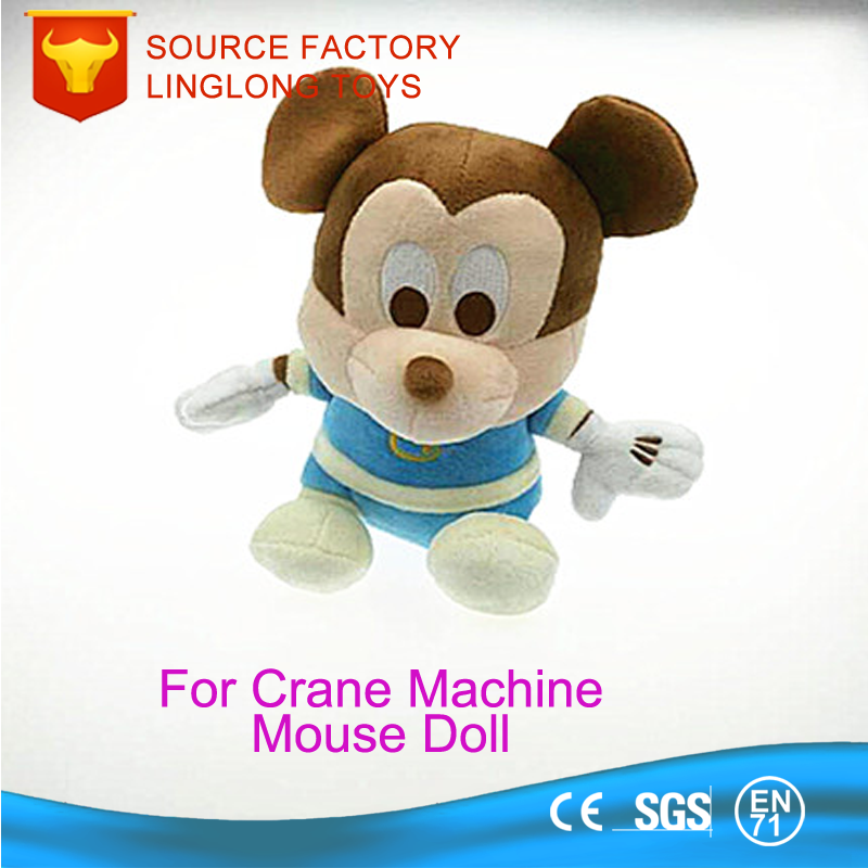 Felt For Crane Machine 20*10CM Blue Ears Mickey Mouse Doll Toys