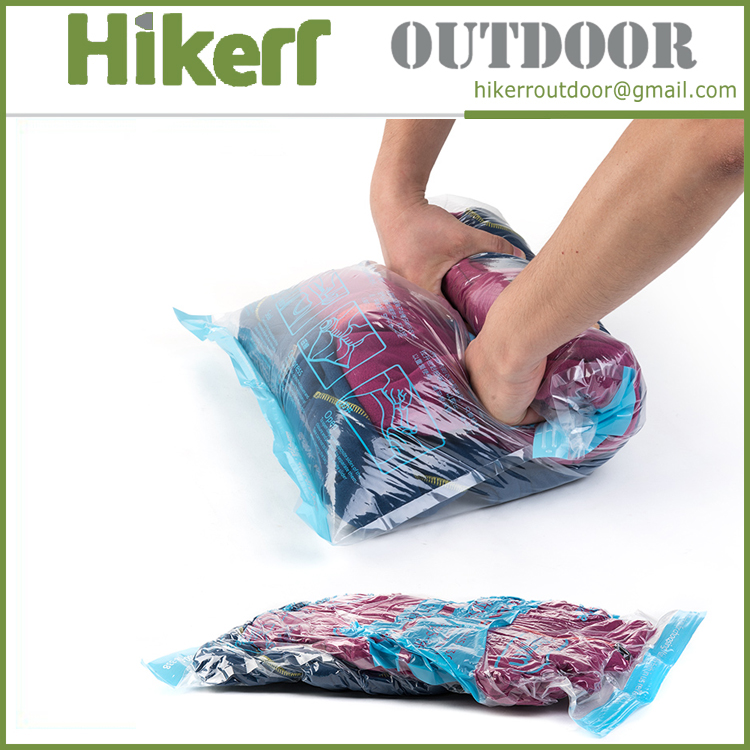 Naturehike hand roll vacuum clothes compression storage bag travel vacuum compressed bag