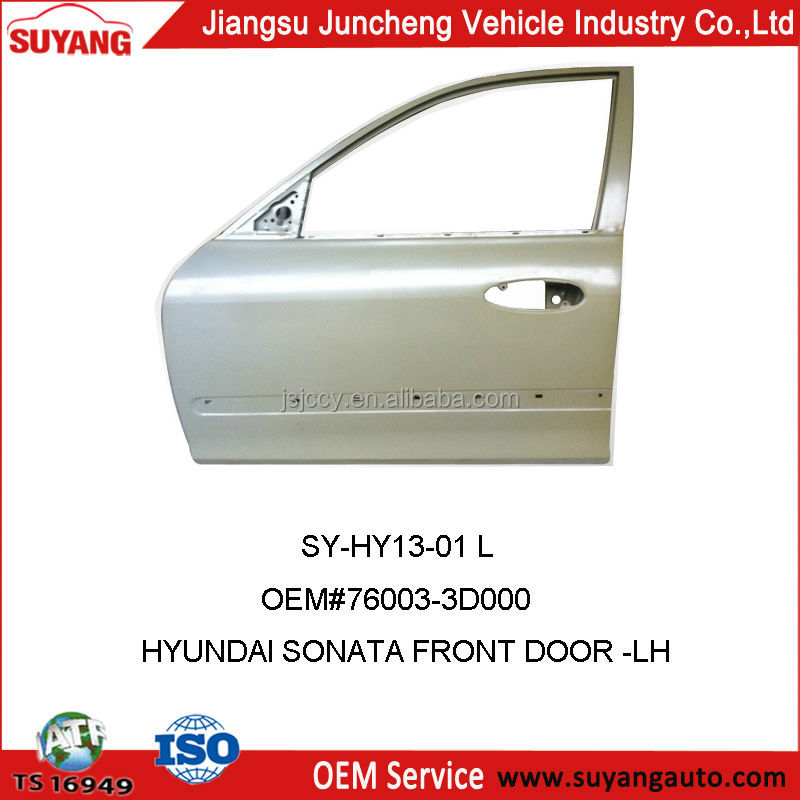 HYUNDAI SONATA 2003 CAR FRONT DOOR FOR AUTO METAL PARTS REPLACEMENT