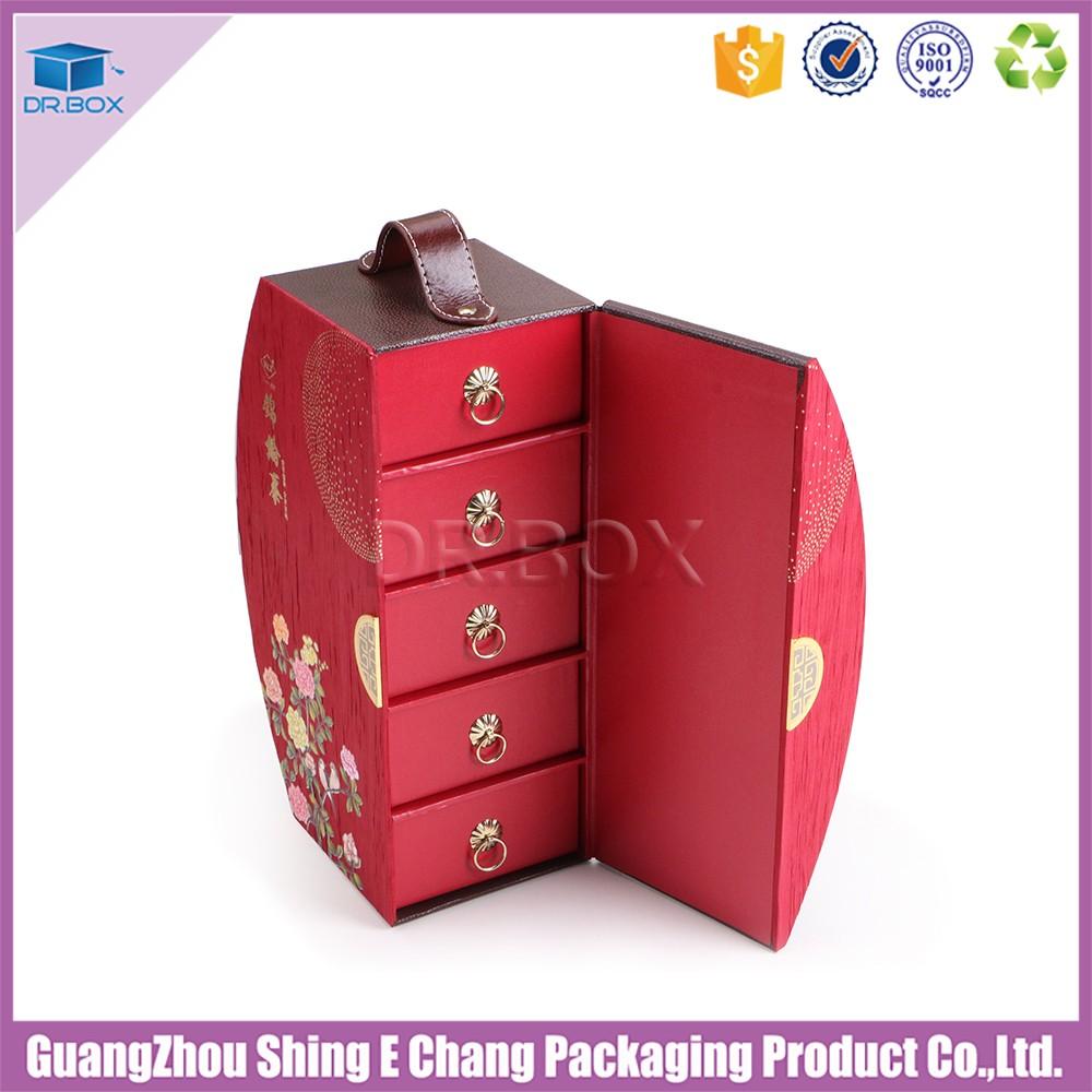 2017 New Design Luxury Gift Box For Mooncake Packaging