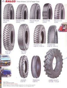 AUTO TYRES AND TUBES
