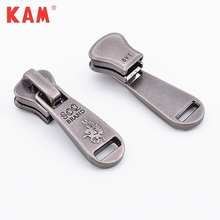 Vintage Fashion Custom Design Logo Black Gunmetal Zinc Alloy Metal Zipper Puller