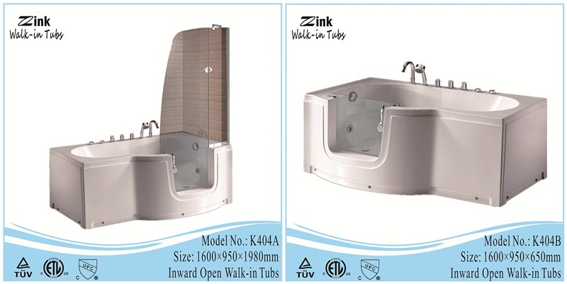 Massage function and freestanding installation type walk for Types of walk in showers