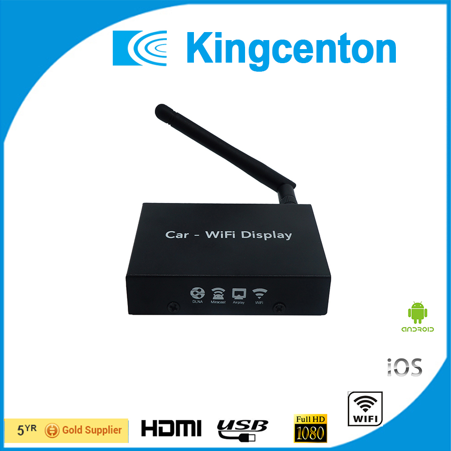 car mirror link wireless box car wifi display for IOS airplay Android Miracast for Audi bmw